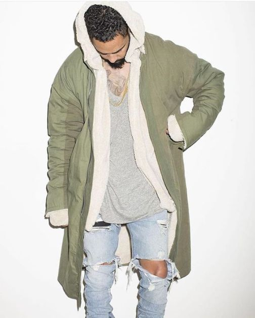 streetwear layered outfit